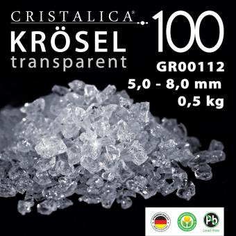 Cristalica 100 Krösel 5,0 - 8,0 mm (500g) transparent